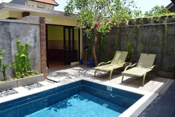 2 bedrooms villa for rent in Denpasar near Sanur Beach – VS1002