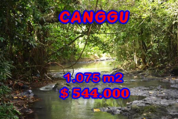 Land for sale in Bali, Fabulous view in Canggu Bali – 1,075 sqm @ $ 506