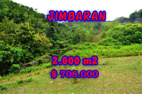 Land for sale in Bali, Beautiful view in Jimbaran Bali – 2.600 m2 @ $ 272