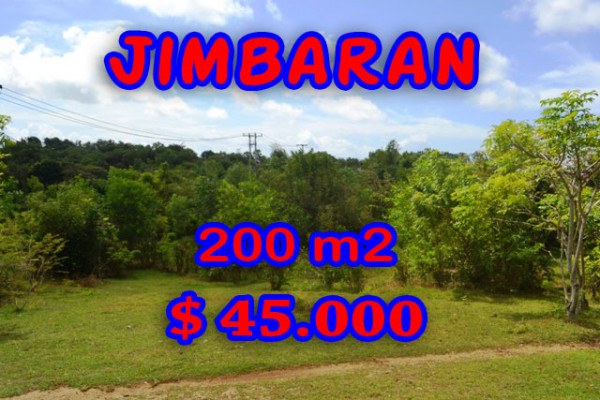 Land for sale in Bali Indonesia, Amazing view in Jimbaran Bali – 200 sqm @ $ 222