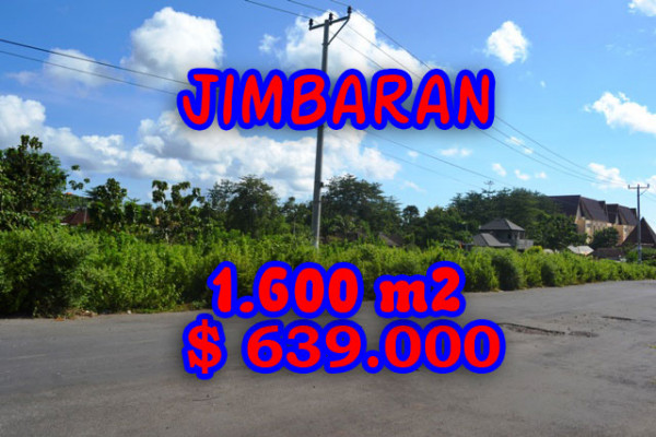 Land in Bali for sale, Astonishing view in Jimbaran Bali – 1.620 m2 @ $ 394