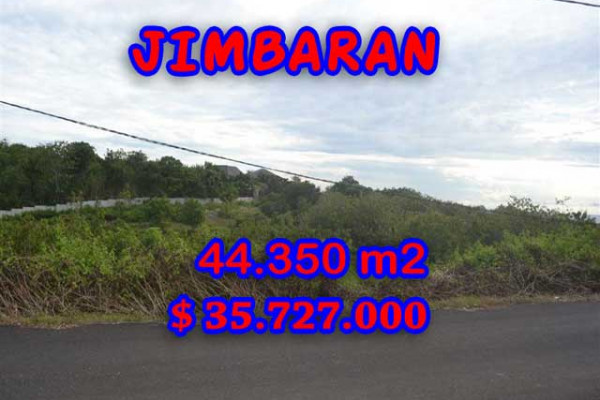 Land for sale in Bali, Interesting view in Jimbaran Bali – 44.350 m2 @ $ 806