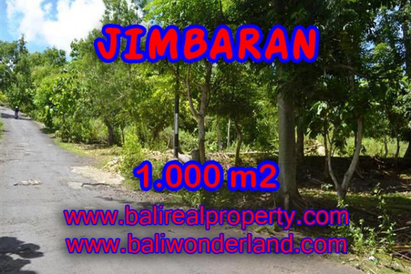 Spectacular Property in Bali, Land for sale in Jimbaran Bali – 1.000 m2 @ $ 345