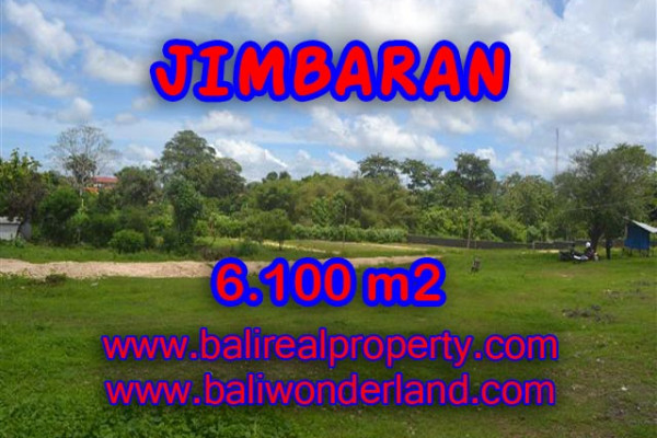 Land for sale in Bali, Magnificent view in Jimbaran Bali – 6.100 m2 @ $ 195