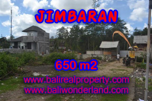 Spectacular Property in Bali, Land for sale in Jimbaran Bali – 650 m2 @ $ 325