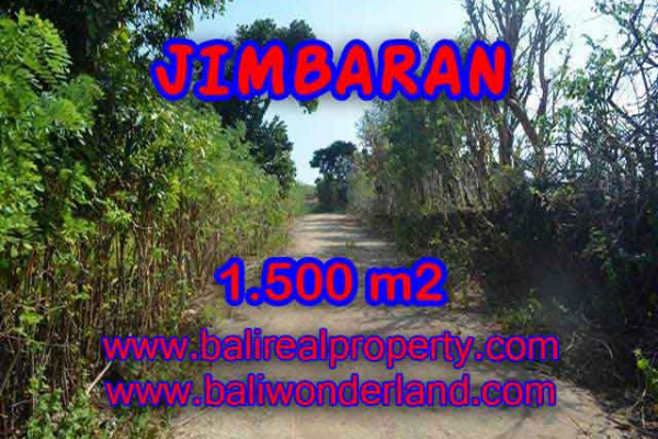 Land for sale in Bali, Magnificent view in Jimbaran Bali – 1.500 m2 @ $ 285