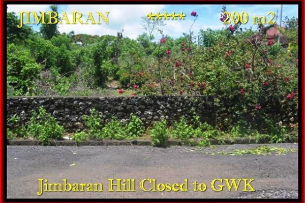 FOR SALE Affordable 200 m2 LAND IN Jimbaran Ungasan BALI TJJI086