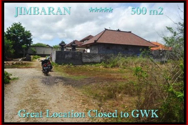 Affordable PROPERTY 500 m2 LAND FOR SALE IN JIMBARAN BALI TJJI085