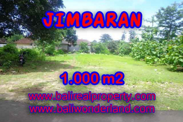 FOR SALE Affordable PROPERTY 1,000 m2 LAND IN Jimbaran four seasons BALI