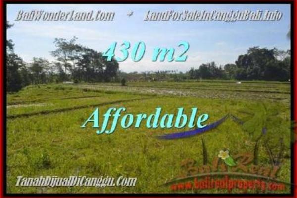 FOR SALE 430 m2 LAND IN Canggu Pererenan BALI TJCG183