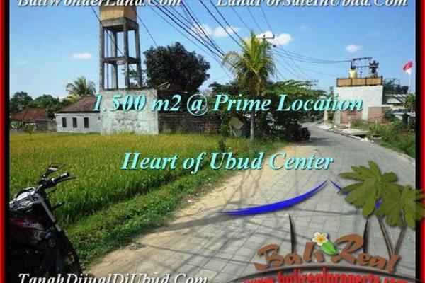 Exotic Sentral Ubud BALI LAND FOR SALE TJUB508