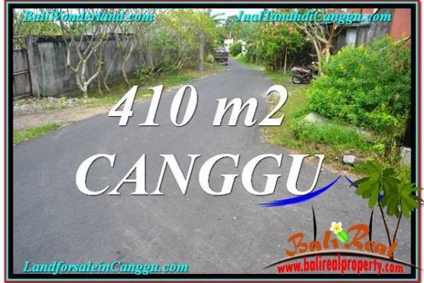 Beautiful PROPERTY 410 m2 LAND FOR SALE IN CANGGU BALI TJCG216