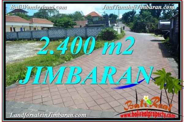 Affordable 2,400 m2 LAND SALE IN Jimbaran Uluwatu  BALI TJJI110