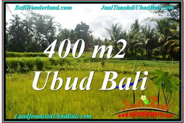 Exotic UBUD BALI 400 m2 LAND FOR SALE TJUB627