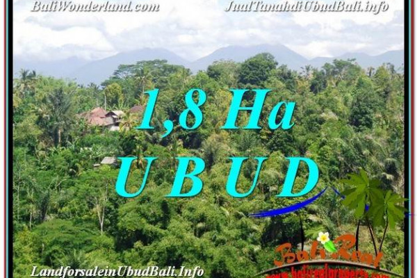 Beautiful 18,000 m2 LAND FOR SALE IN Ubud Tegalalang TJUB589
