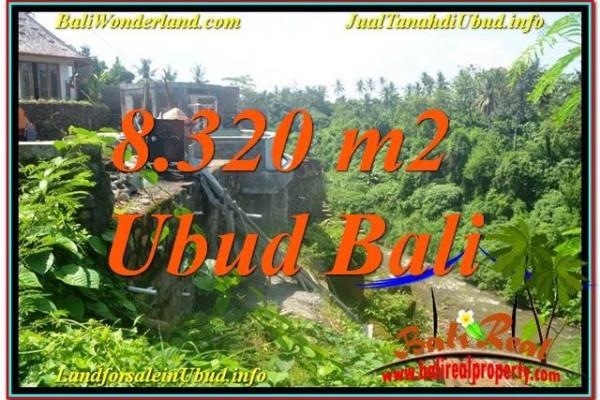 Exotic PROPERTY 8,320 m2 LAND IN Sentral / Ubud Center FOR SALE TJUB635