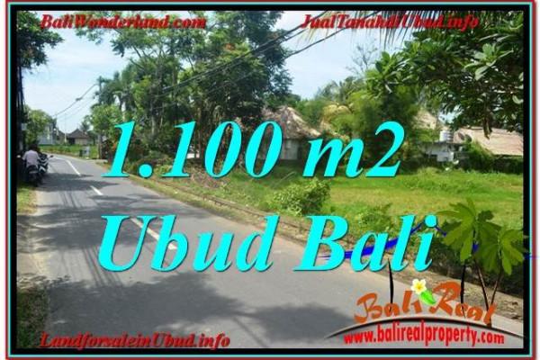 Magnificent PROPERTY 1,100 m2 LAND SALE IN Sentral / Ubud Center TJUB645