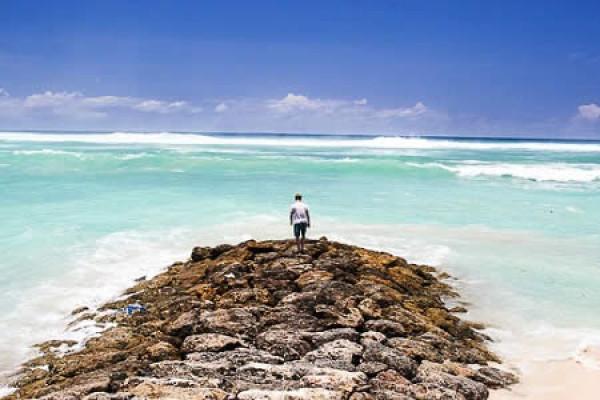 PANDAWA BEACH AT JIMBARAN