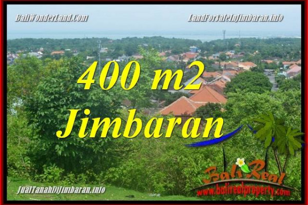 Exotic 400 m2 LAND IN JIMBARAN FOR SALE TJJI122
