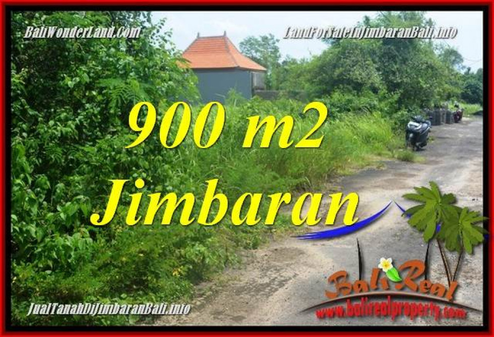 FOR SALE Beautiful PROPERTY 900 m2 LAND IN JIMBARAN BALI TJJI124