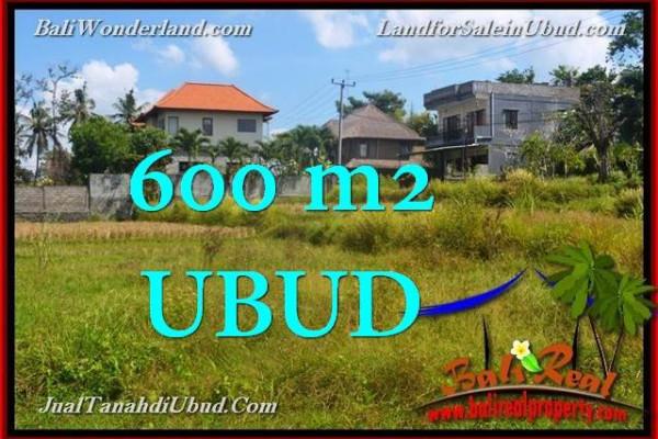 Beautiful PROPERTY 600 m2 LAND FOR SALE IN Sentral Ubud TJUB664