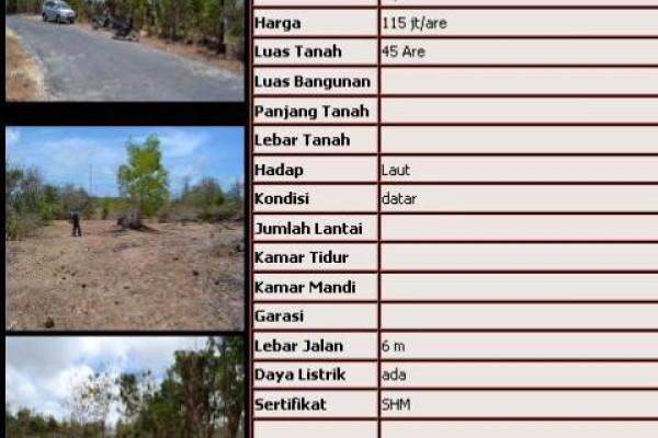land for sale in jimbaran near banyan tree hotel – TJJI003