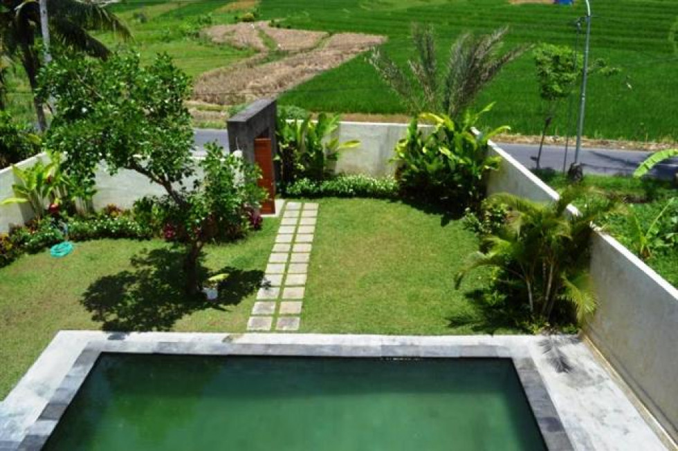 stunning rice field view villa for sale in Canggu