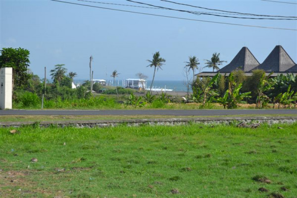 Land for sale in Canggu with Beach view – TJCG066