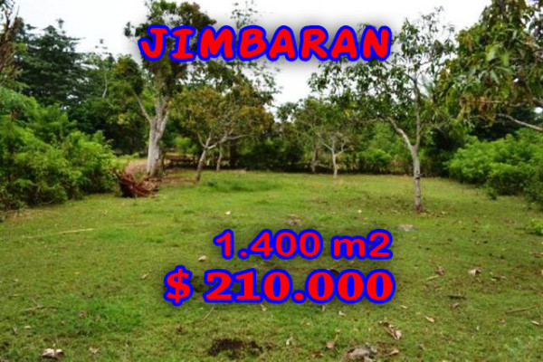 Land for sale in Jimbaran 1,400 sqm with Close to Pecatu Graha  – TJJI016