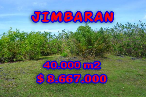 Splendid Property for sale in Bali, Jimbaran land for sale – 40.000 sqm @ $ 217