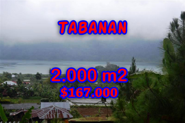 Land for sale in Bali, Fantastic view in Tabanan Bali – 2.000 m2 @ $ 84
