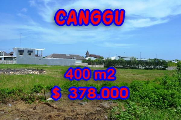 Astonishing Property in Bali, Land for sale in Canggu Bali – 400 m2 @ $ 944