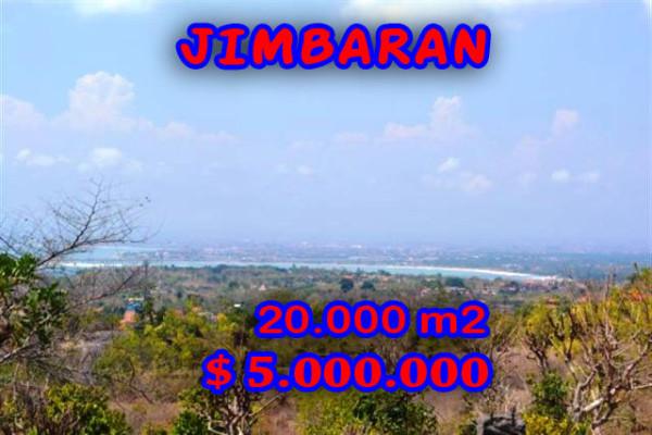 Land in Jimbaran for sale, Attractive view in Jimbaran Uluwatu Bali – TJJI015