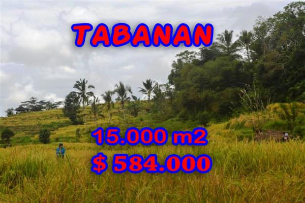 Land for sale in Tabanan Bali, Fantastic view in Tabanan Penebel Bali – TJTB065