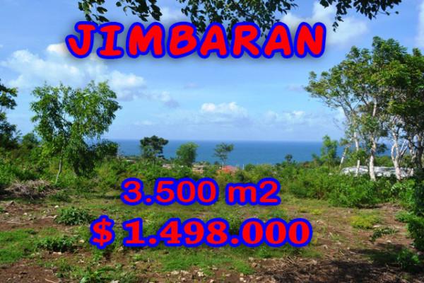 Land in Jimbaran Bali for sale, Incredible view in Jimbaran Sawangan – TJJI044