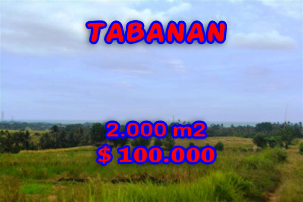 Land for sale in Tabanan Bali, Interesting view in Tabanan Tanah Lot – TJTB057
