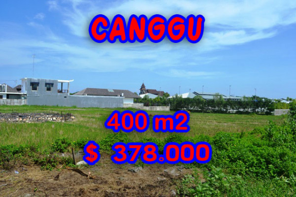 Exceptional Rice Fields View Land for sale in Canggu Bali – TJCG108