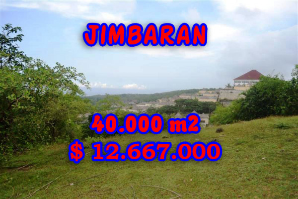 Land for sale in Bali, Exotic view in Jimbaran Bali – 40.000 sqm @ $ 317
