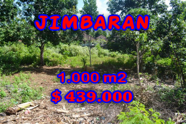 Astounding Property in Bali, Land in Jimbaran Bali for sale – 1.000 m2 @ $ 439