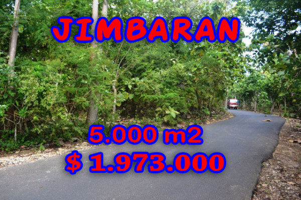 Astounding Property for sale in Bali, Land in Jimbaran for sale– 5.000 m2 @ $ 394
