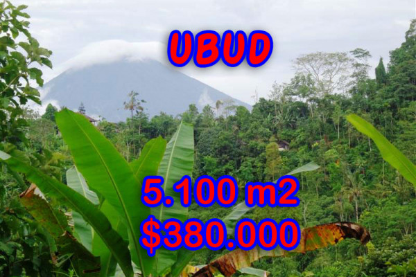 Astounding Property for sale in Bali, Land in Ubud for sale– 5.100 sqm @ $ 74