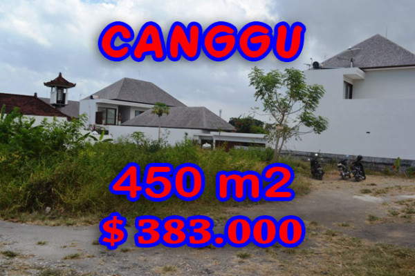Exotic Land for sale in Canggu Bali, rice fields view in Batu Bolong– TJCG121