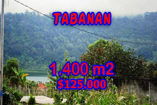 Land for sale in Bali, Fantastic view in Tabanan Bali – 1.400 m2 @ $ 89