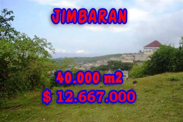Fabulous Property in Bali, Land for sale in Jimbaran Bali – 40.000 m2 @ $ 317