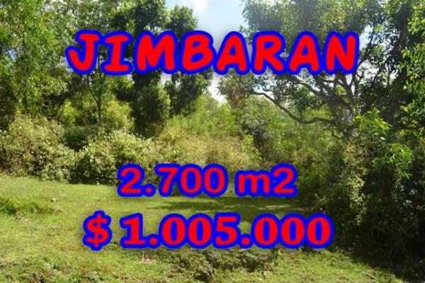 Land for sale in Bali Indonesia, Incredible property in Jimbaran Bali – 2.700 m2 @ $ 372