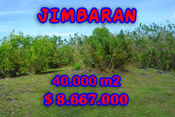 Astounding Property in Bali, Land in Jimbaran Bali for sale – 40.000 m2 @ $ 217