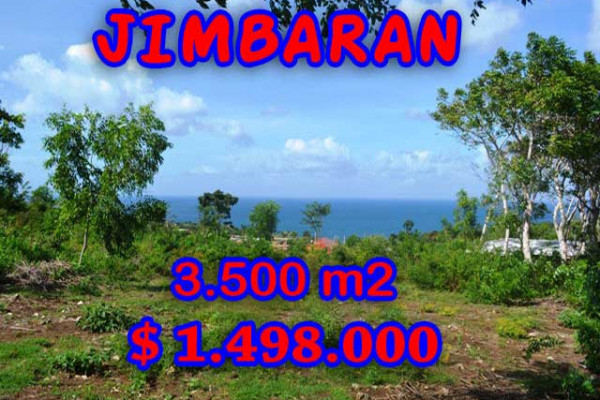 Attractive Property for sale in Bali, Jimbaran land for sale – 3.500 m2 @ $ 428