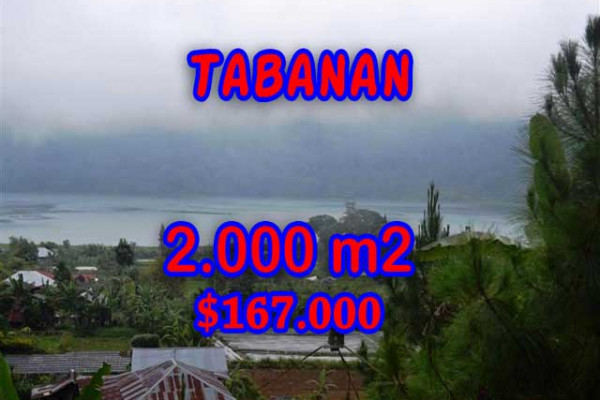 Land in Bali for sale, Great view in Tabanan Bali – 2.000 m2 @ $ 84