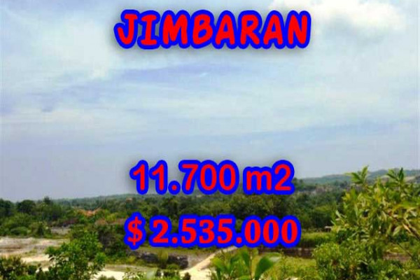 Land for sale in Bali, Outstanding view in Jimbaran Bali – 11.700 m2 @ $ 217