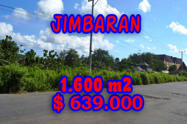Extraordinary Property in Bali, Land for sale in Jimbaran Bali – 1.620 m2 @ $ 394